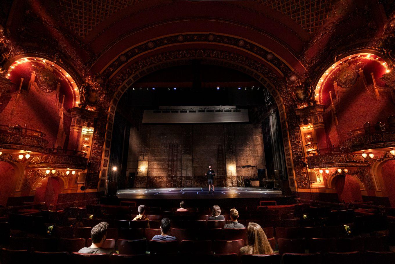 Inside The Cutler Majestic theatre